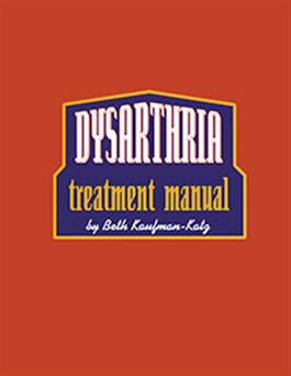 Dysarthria Treatment Manual