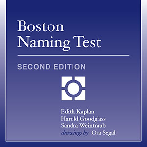 Boston Naming Test–Second Edition
