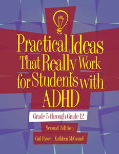PITRW for Students with ADHD: Grade 5 through Grade 12-Second Edition, Manual