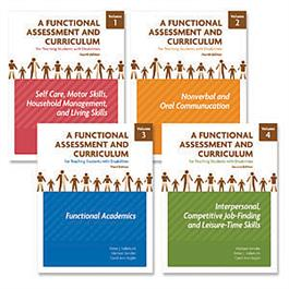 A Functional Assessment and Curriculum for Teaching Students with Disabilities — Volumes I-IV: Complete Set