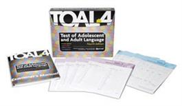 TOAL-4: Test of Adolescent and Adult Language–Fourth Edition