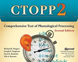 CTOPP-2: Comprehensive Test of Phonological Processing–Second Edition
