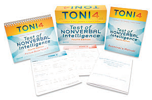 TONI-4: Test of Nonverbal Intelligence–Fourth Edition