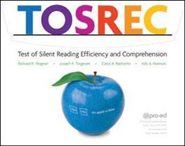 Tosrec Grade 10 12 Test Of Silent Reading Efficiency And Comprehension
