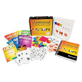 LiPS: The Lindamood Phoneme Sequencing® Program for Reading, Spelling, and Speech–Fourth Edition, Complete Kit