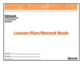 Edmark Reading Program: Level 2 – Second Edition, Lesson Plan/Record Book