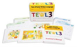 TEWL-3: Test of Early Written Language–Third Edition, Complete Kit