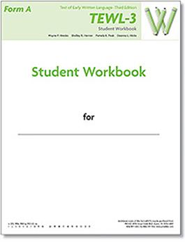 TEWL-3 Student Workbook Form A (pack of 10)