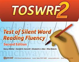 TOSWRF-2: Test of Silent Word Reading Fluency–Second Edition
