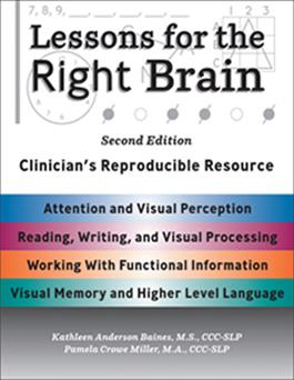 Lessons for the Right Brain–Second Edition: Clinician's Reproducible Resource E-Book
