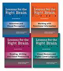 Lessons for the Right Brain-Second Edition (Set of 4)