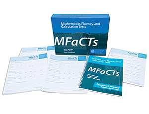 MFaCTs: Mathematics Fluency and Calculation Tests, Complete Secondary Kit