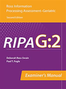 RIPA-G:2 Examiner's Manual