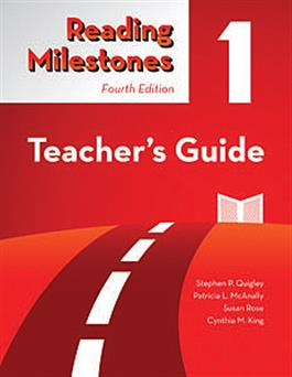 Reading Milestones-Fourth Edition, Level 1 (Red) Teacher's Guide-E-Book