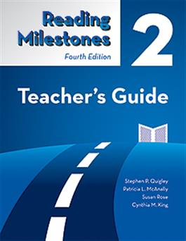 Reading Milestones-Fourth Edition, Level 2 (Blue) Teacher's Guide-E-Book