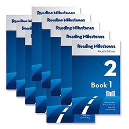 Reading Milestones–Fourth Edition, Level 2 (Blue) Reader Package