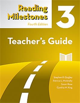 Reading Milestones–Fourth Edition, Level 3 (Yellow) Teacher's Guide