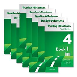 Reading Milestones–Fourth Edition, Level 4 (Green) Reader Package