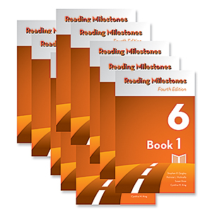 Reading Milestones-Fourth Edition, Level 6 (Orange) Reader Package (1-10)