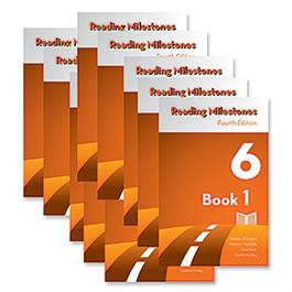 Reading Milestones–Fourth Edition, Level 6 (Orange) Reader Package