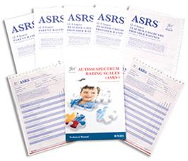 ASRS: Autism Spectrum Rating Scale Ages 2 to 5 Handscored Kit with DSM-5 Scoring Update