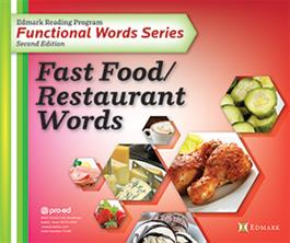 Edmark Reading Program Functional Words Series – Second Edition: Fast Food/Restaurant Words, Complete Kit