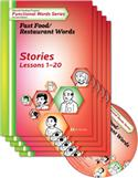 Edmark Reading Program Functional Words Series – Second Edition: Fast Food/Restaurant Words, Stories Kit
