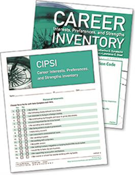 CIPSI: Career Interests, Preferences, and Strengths Inventory Online - 25 Users + 25 Print Inventory Booklets