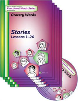 Edmark Reading Program Functional Words Series U2013 Second Edition: Grocery  Words, Stories Kit  Grocery Words