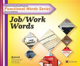 Edmark Reading Program Functional Words Series – Second Edition: Job/Work Words, Complete Kit