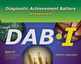 DAB-I: Diagnostic Achievement Battery–Intermediate: Complete Kit