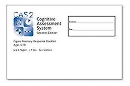 CAS2: Figure Memory Response Booklet: Ages 5-18 (10)