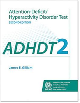 Attention-Deficit/Hyperactivity Disorder Test–Second Edition (ADHDT-2)