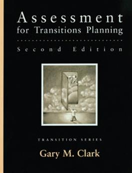 Assessment for Transitions Planning–Second Edition E-Book