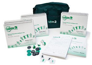 UNIT2: Universal Nonverbal Intelligence Test-Second Edition; Complete Kit (with case)