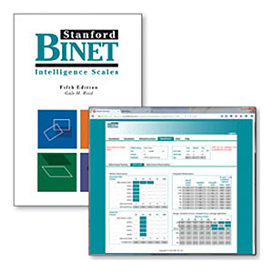 Stanford-Binet Intelligence Scales-Fifth Edition (SB5) Complete Test Kit and Online Scoring and Report System COMBO