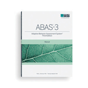 ABAS-3: Adaptive Behavior Assessment System–Third Edition, Comprehensive Kit