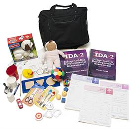 IDA-2: Infant-Toddler Developmental Assessment–Second Edition–Complete Kit WITH Manipulatives and Carrying Case
