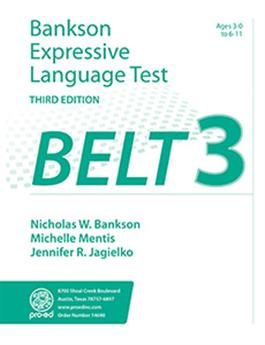 Bankson Expressive Language Test–Third Edition (BELT-3)