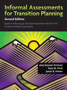 Informal Assessments for Transition Planning–Second Edition–Book with Access Code