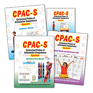 CPAC-S: Contextual Probes of Articulation Competence – Spanish Test with Normative Data Manual