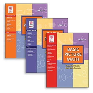 Basic Picture Math - COMBO All 3 Level Books COMBO Amy Hudson+