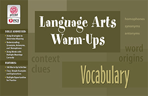 Language Arts Warm-Ups: Vocabulary