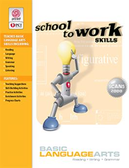 School-to-Work Skills: Basic Language Arts (Set of 2)