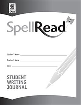 SpellRead Student Writing Journal