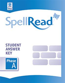 SpellRead Student Answer Key - Phase A