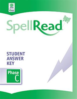 SpellRead Student Answer Key - Phase C