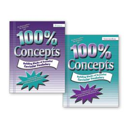 100%® Concepts: 2-Book Set