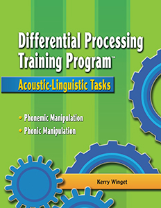 Differential Processing Training Program: Acoustic-Linguistic Tasks