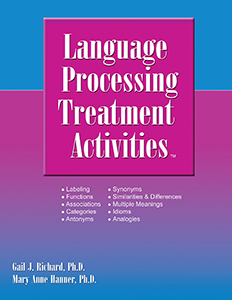 Language Processing Treatment Activities